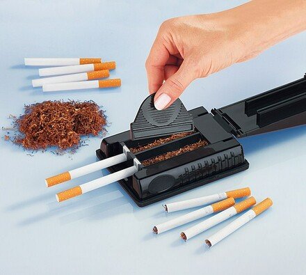 Plnička cigaret, černá