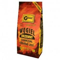 Uhlie drevené na gril 2,5 kg