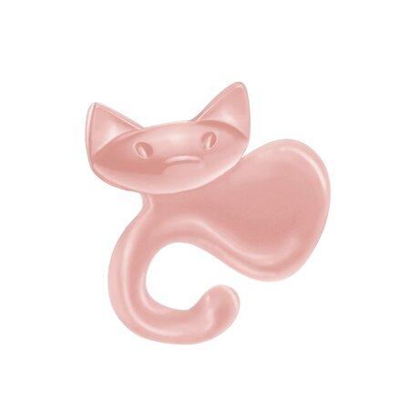 Koziol Miaou akasztó, rózsaszín