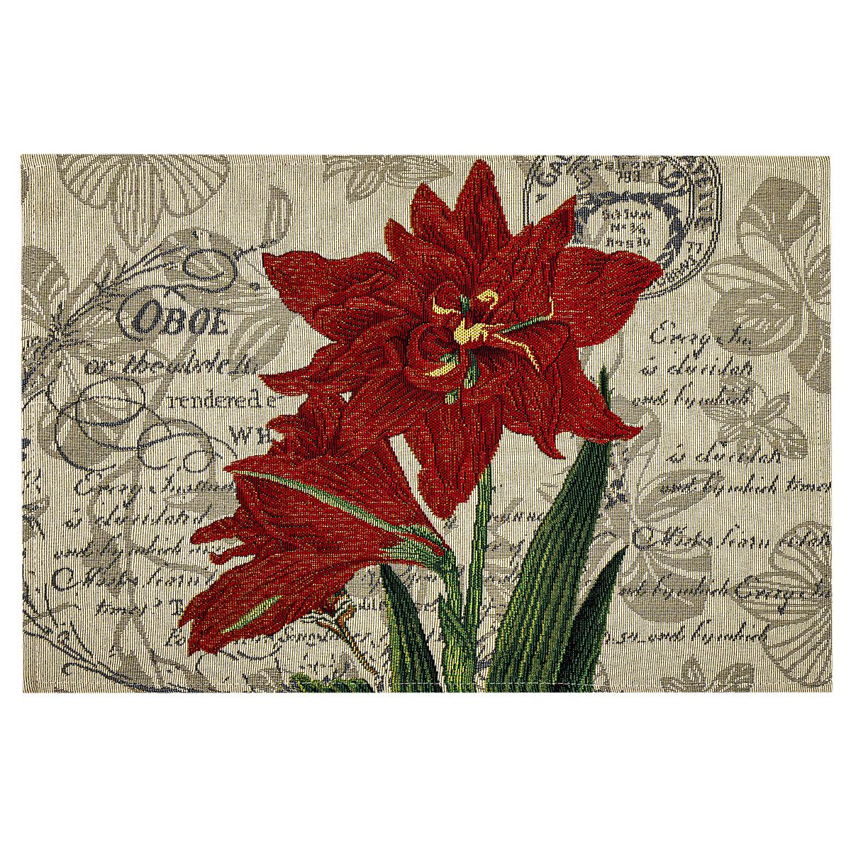 Poza Napron Crin rosu, 32 x 48 cm