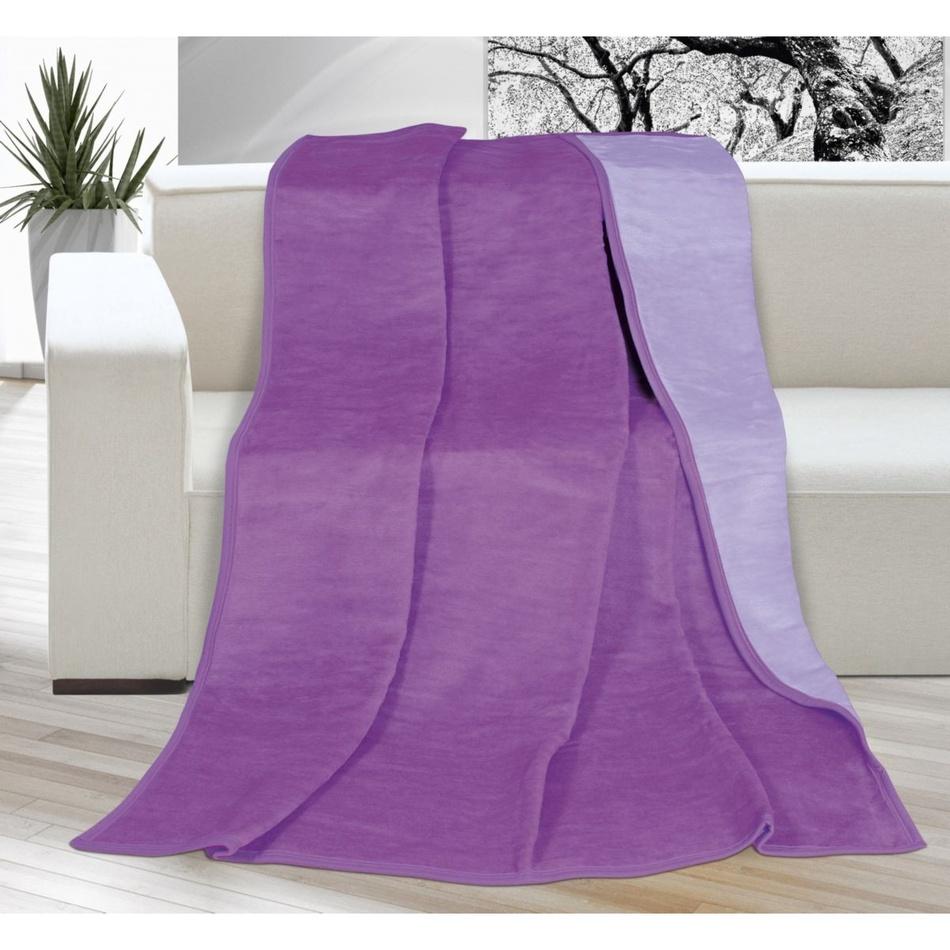 Bellatex Deka Kira fialová/svetlo fialová, 150 x 200 cm,