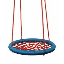 Woody fészekhinta, átmérő: 85 cm, piros-kék