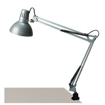 Lampă cu clemă de birou Rabalux 4216 Arno, argintiu