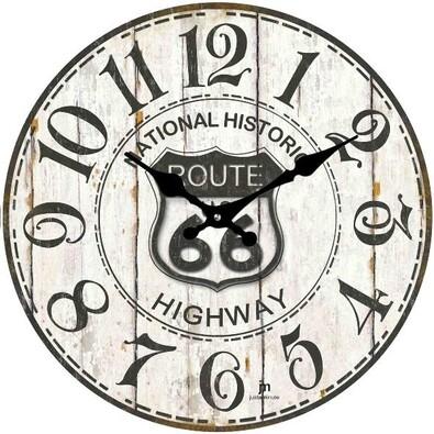 Lowell 14848 nástenné hodiny