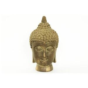 Zahradní dekorace Buddha, zlatá