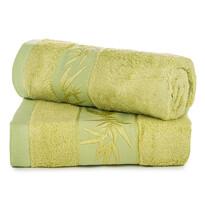 Komplet ręczników bambus Hanoi zielony