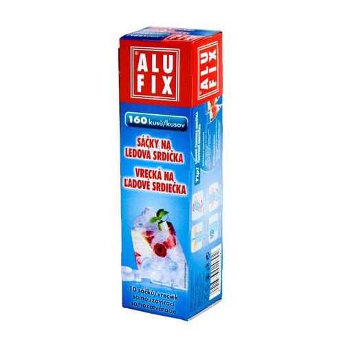 Alufix Vrecká na ľadové srdiečka, 10 ks