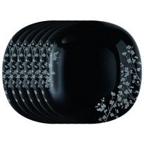 Luminarc Ombrelle sekélytányér készlet, 27 cm 6 db, fekete
