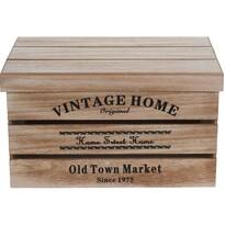 Zestaw pudełek dekoracyjnych Old Town Market, 3 szt.