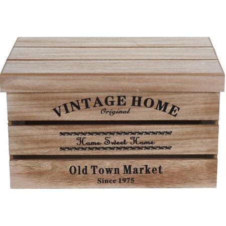 Sada dekoračních úložných boxů Old Town Market, 3 ks