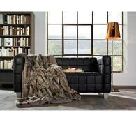 s.Oliver kožešinová deka hnědá 3693/833, 150 x 200 cm