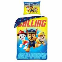 Dětské bavlněné povlečení Paw Patrol  Calling All Pups, 140 x 200 cm, 70 x 90 cm