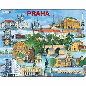 Larsen Puzzle Nejzajímavější atrakce v Praze, 66 dílků