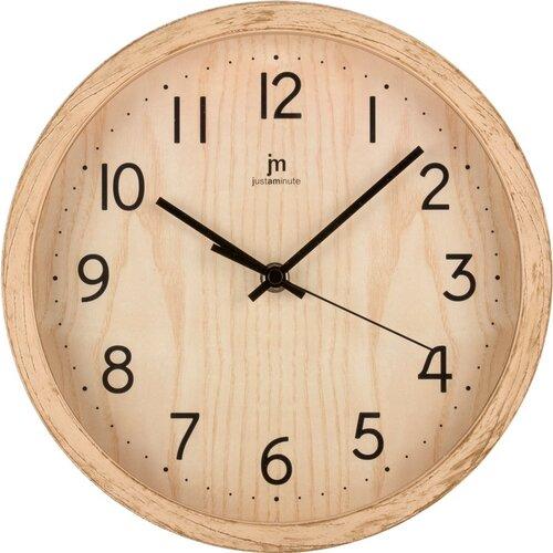 Lowell 00827F Designové nástěnné hodiny pr. 25 cm