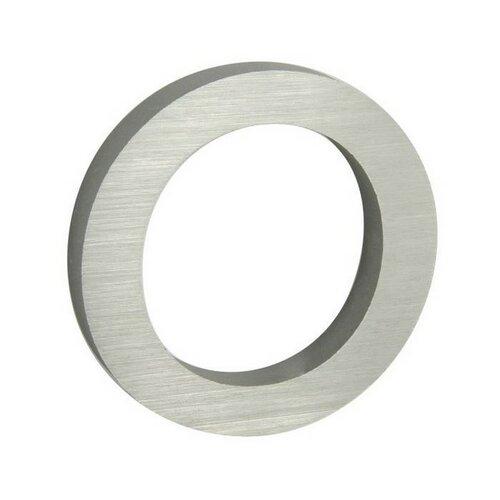 Hliníkové domovní číslo 3D broušený povrch RN.100LV.0.AL.3D