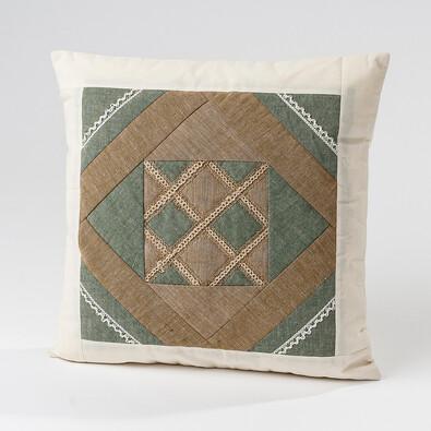 Bavlněný povlak na polštářek, barevný