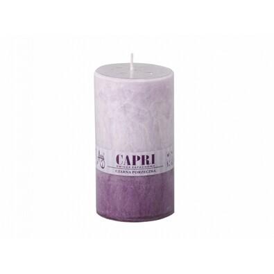 Stearinová svíčka Capri Duo Levandule