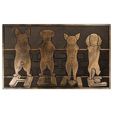 Gumová rohožka Strážcovia, 40 x 60 cm