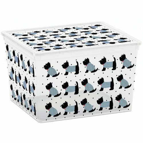 Úložný box Kis C-Box Cute Animals Cube 27 l
