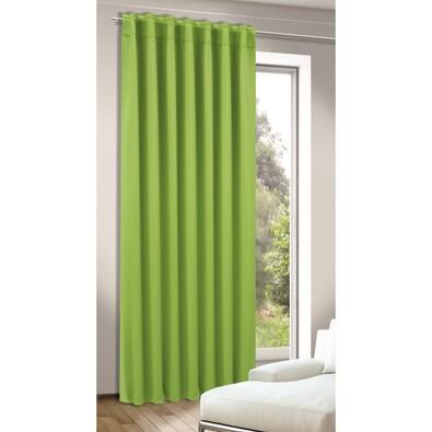 Zatemňovací závěs Tina zelená, 245 x 140 cm