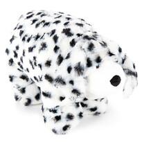 Plyšový dalmatín s gombíkom, 35 x 45 cm