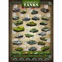 EuroGraphics Puzzle Historie tanků, 1000 dílků