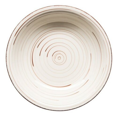 Mäser Keramický hlboký tanier Bel Tempo 21,5 cm, béžová