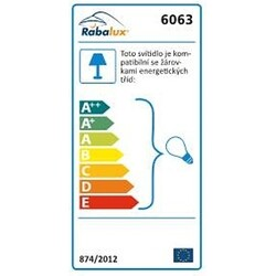 Rabalux 6063 Elite nástěnné svítidlo