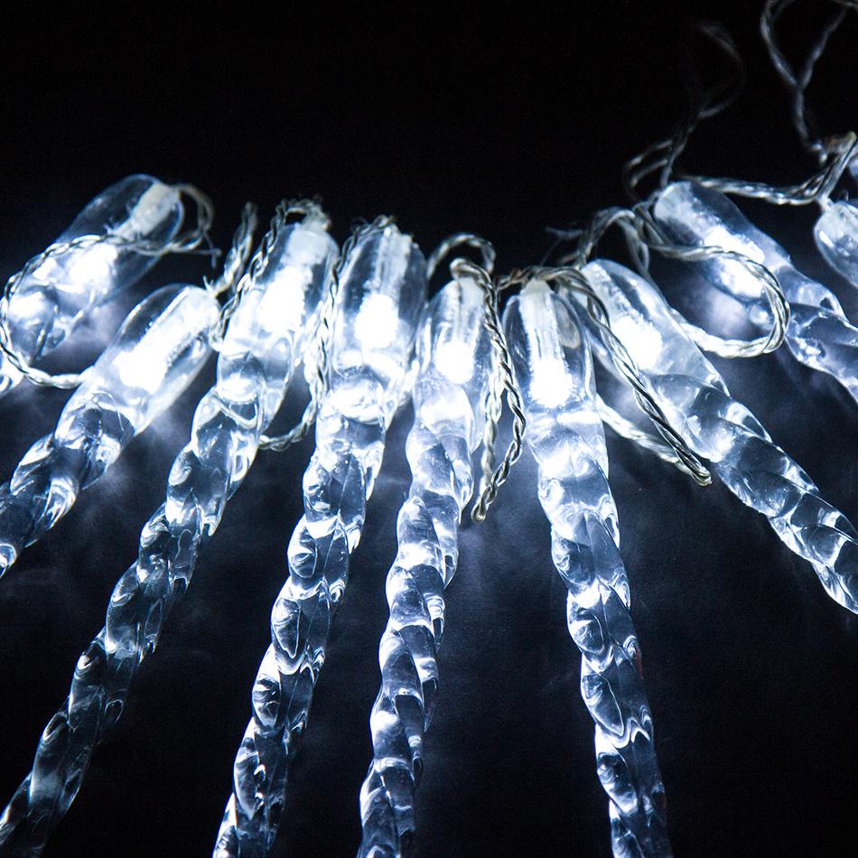 Světelný řetěz Rampouchy 25 cm, 10 LED