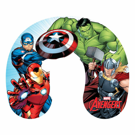 Pernă de voiaj Avengers, 40 x 40 cm