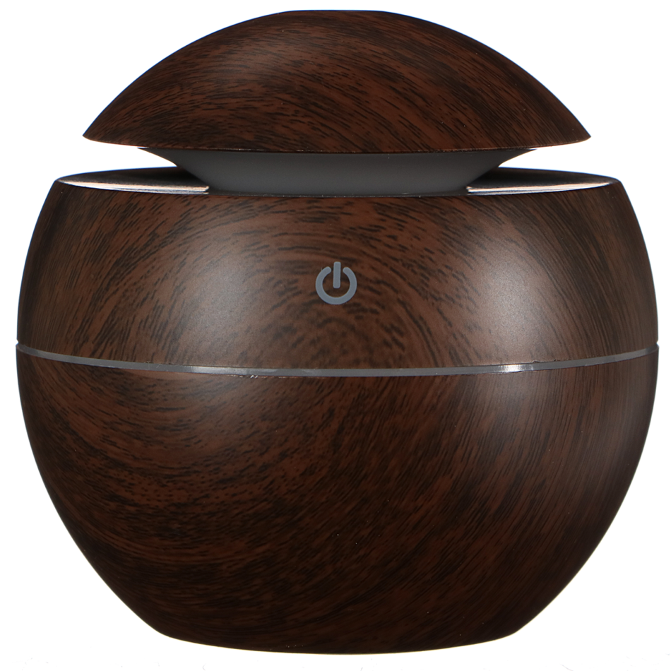 Sixtol Aróma difuzér Ball tmavé drevo, 130 ml