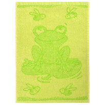 Prosop copii Frog green, 30 x 50 cm