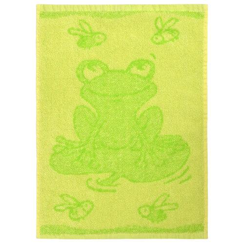 Detský uterák Frog green, 30 x 50 cm