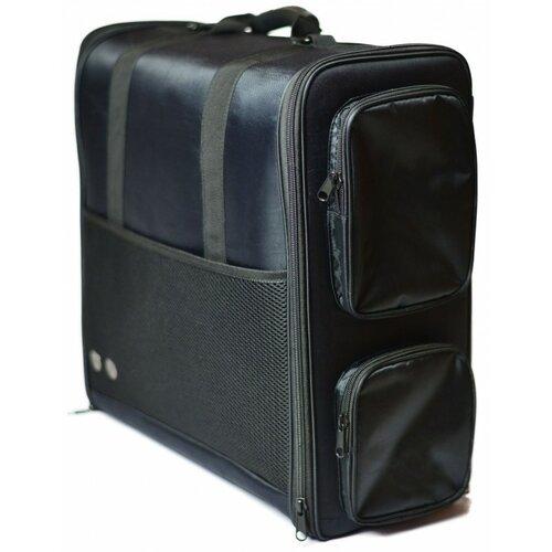 Cestovná športová taška čierna, 40 x 46 x 19,5 cm