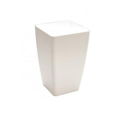 Plastia MIMOSA plastový květináč bílý