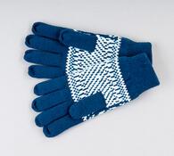 Rukavice dámské Karpet 5969, tm. modrá, M