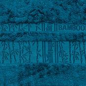 Ručník Bamboo modrá, 50 x 90 cm