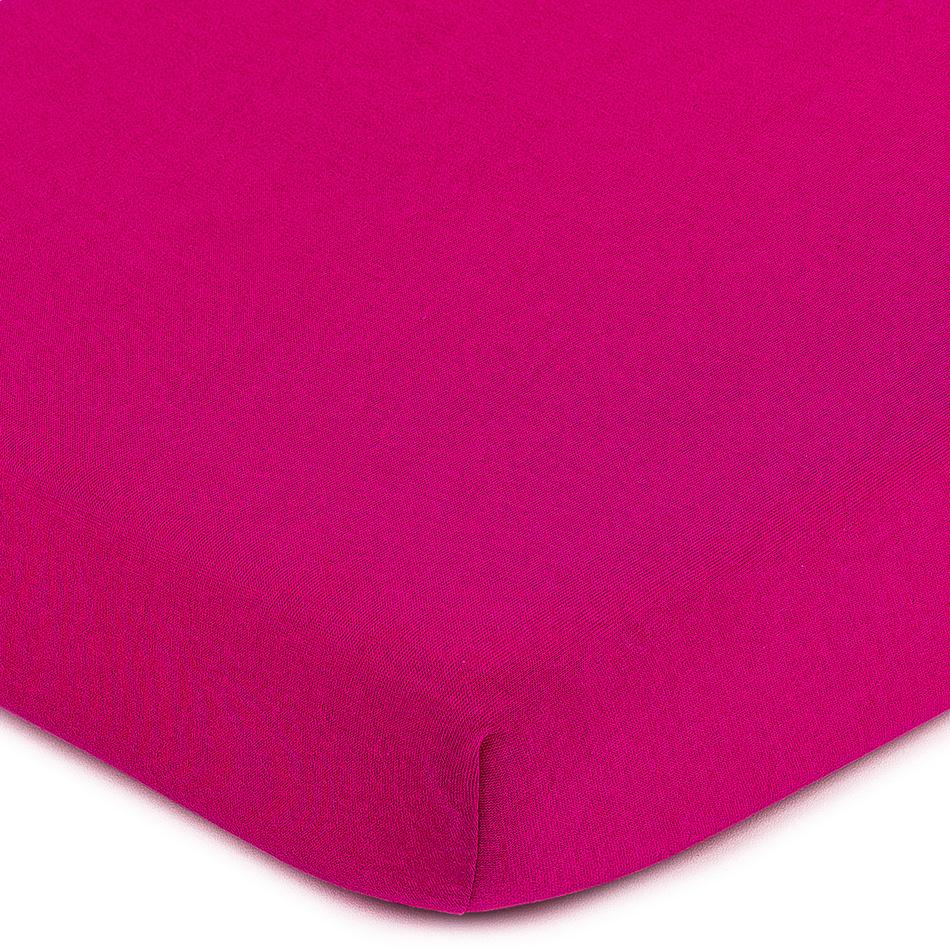 4Home jersey prostěradlo růžová, 140 x 200 cm