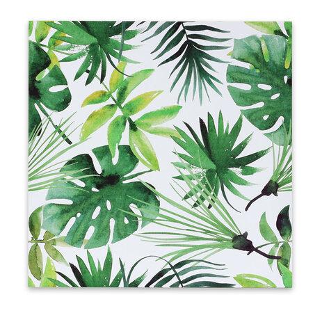 Jungle vászonkép, 50 x 50 cm