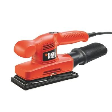 Vibrační bruska 240 W, Black and Decker KA310, oranžová