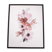 Flowers keretezett vászonkép, 40 x 50 cm