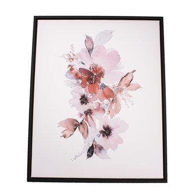 Obraz na płótnie w ramie Flowers, 40 x 50 cm