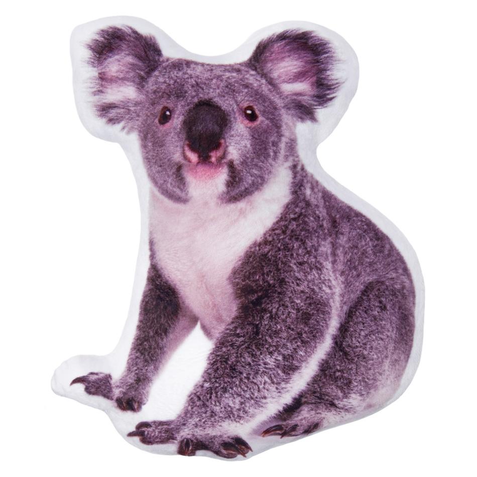 Jahu Tvarovaný 3D vankúšik Koala, 30 x 40 cm