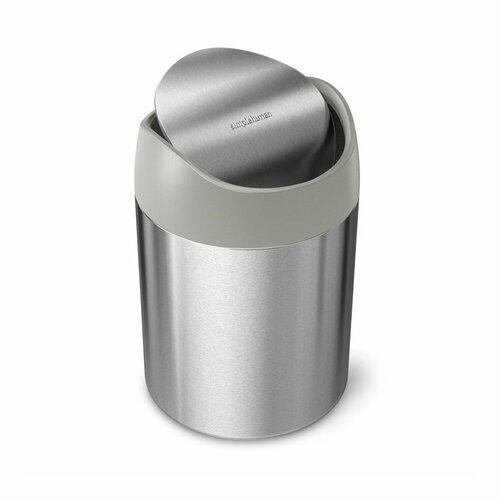 Simplehuman Odpadový kôš na stôl MINI 1,5 l, nerez