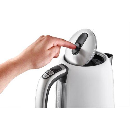 Concept RK3181 czajnik bezprzewodowy z regulacją temperatury 1,7 l, biały