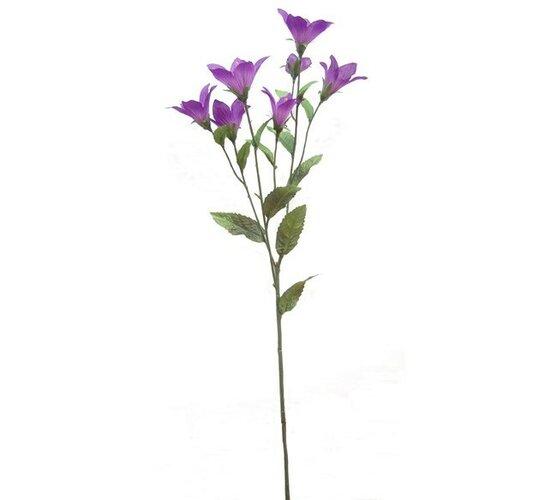 Umelé kvety zvončeky, fialové