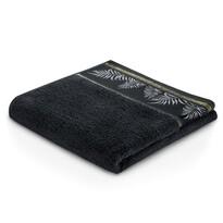 AmeliaHome Ręcznik kąpielowy Pavos czarny