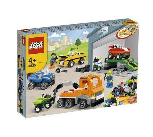 Lego Creator 4635 Bav sa s autíčkami, viacfarebná