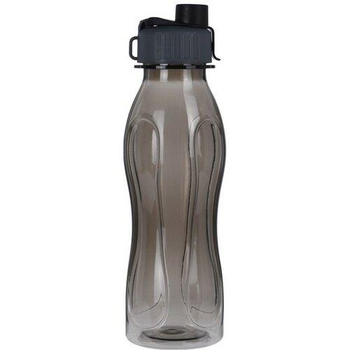 Športová fľaša 600 ml, čierna