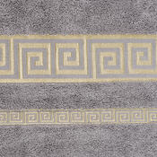 Osuška Atény šedá, 70 x 140 cm